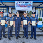 Tacloban PNP awards Deserving Personnel during the Traditional Monday Flag Raising Ceremony